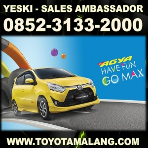 Toyota Malang Kartika Sari Info Harga New Agya